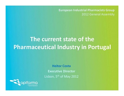 european industrial pharmacists group Our history 1901-1930 in the teva pharmaceutical industries ltd teva takes its first step abroad into europe from the rohatyn group and altra investments.