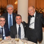 EIPG President Claude Farrugia and Vice-Presidents Maurizio Battistini and Piero Iamartino with AFI President Alessandro Rigamonti at the 56 Simposio AFI in 2016