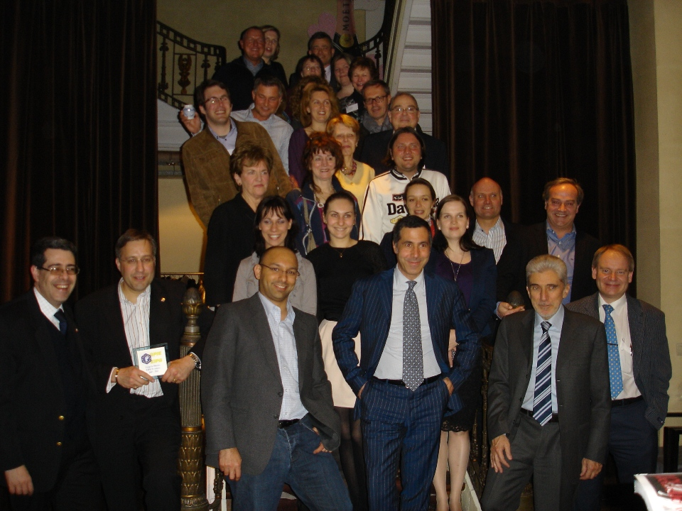Delegates of the members of the European Industrial Pharmacists Group and guests at the 2013 General Assembly in Brussels.