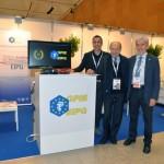 EIPG Vice-Presidents Maurizio Battistini and Piero Iamartino with AFI President Alessandro Rigamonti at the 56 Simposio AFI in 2016