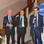 EIPG President Claude Farrugia and Vice-Presidents Maurizio Battistini and Piero Iamartino at the 56 Simposio AFI in 2016