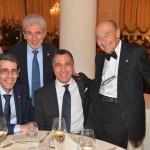 EIPG President Claude Farrugia and Vice-Presidents Maurizio Battistini and Piero Iamartino with AFI President Alessandro Rigamonti at the 56 Simposio AFI in 2016