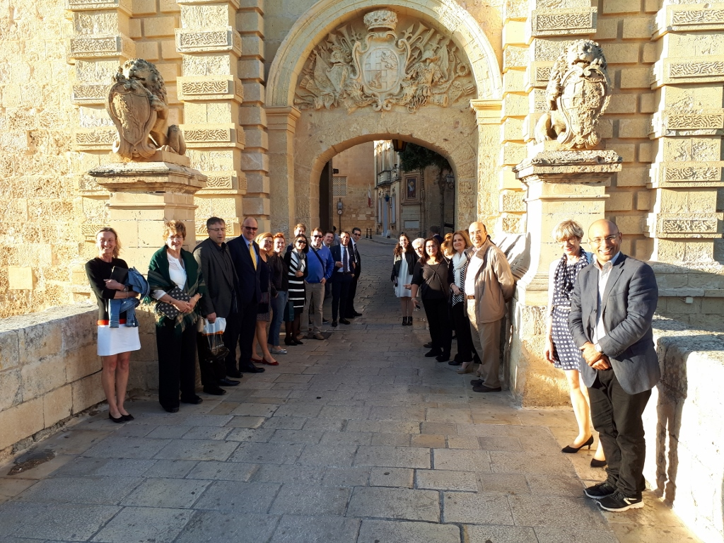EIPG delegates and guests at the 2017 General Assembly in Malta.